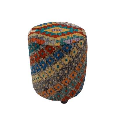 Ferranti Ottoman Upholstery: Brown/Dark, Size: 20 H x 16 W x 16 D