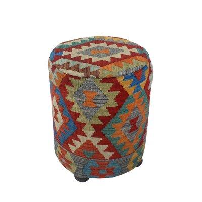 Ferranti Ottoman Upholstery: Brown/Light, Size: 20 H x 16 W x 16 D