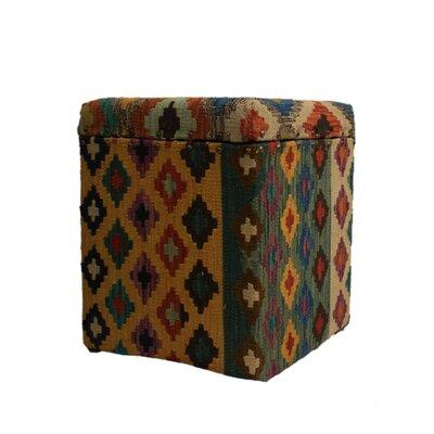 Ferrara Storage Ottoman Upholstery: Beige