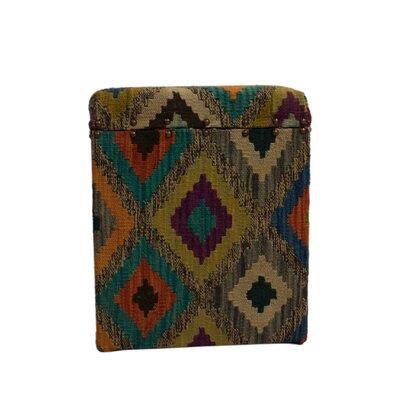 Ferrara Storage Ottoman Upholstery: Brown