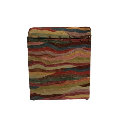 Ferrara Storage Ottoman Upholstery: Pink