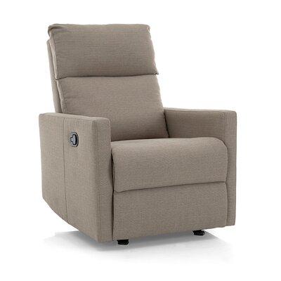 Nardo Manual Glider Recliner Upholstery: Beige