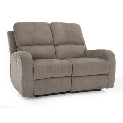 Idaho Leather Reclining Loveseat