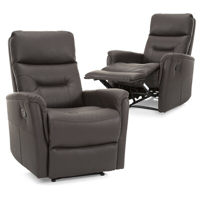 Gamitch Standard Recliner Upholstery: Brown