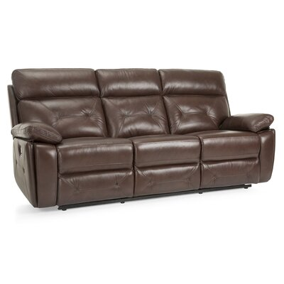 Krafton Leather Reclining Sofa