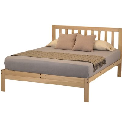 Charleston 2 Platform Bed Size: Queen
