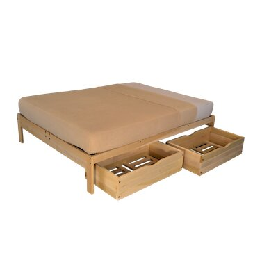 Nomad 2 Platform Bed with Storage
