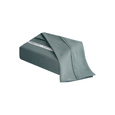 Applerouth Rayon from Bamboo Solid Sheet Set Size: Double/Full, Color: Gray
