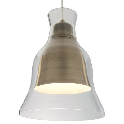 Jurgensen 1-Light Bell Mini Pendant
