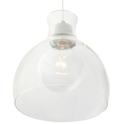 Jurgensen 1-Light Bowl Mini Pendant