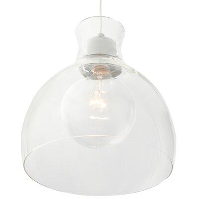 Jurgensen 1-Light Bowl Mini Pendant