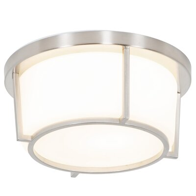 Brayden Studio Junkins 1-Light Flush Mount
