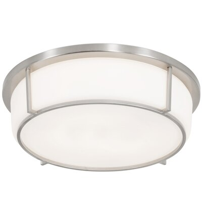 Junkins 3-Light Flush Mount
