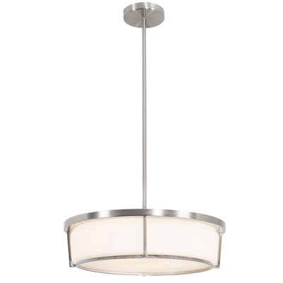 Brayden Studio Junkins 3-Light Drum Pendant