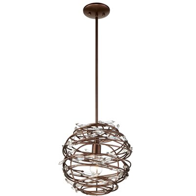 Jurgens 1-Light Globe Pendant