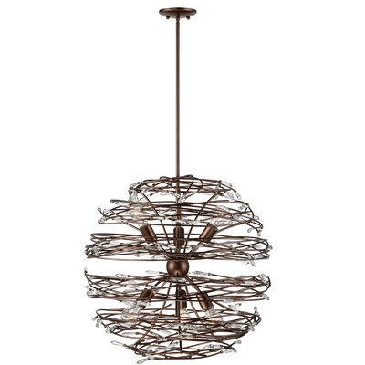 Jurgens 6-Light Globe Pendant