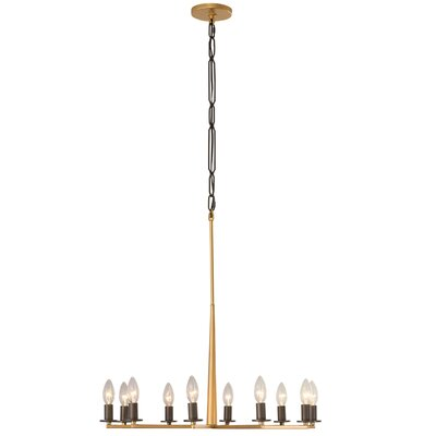 Davila 10-Light Candle-Style Chandelier
