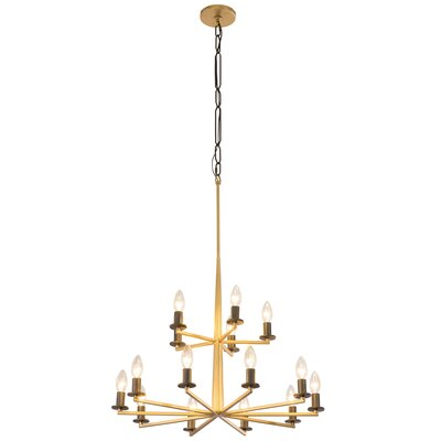 Davila 15-Light Candle-Style Chandelier