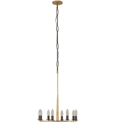 Davila 8-Light Candle-Style Chandelier