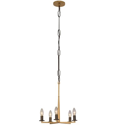 Davila 5-Light Candle-Style Chandelier