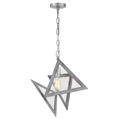 Fannie 1-Light Geometric Pendant