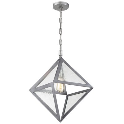 Fannie 1-Light Geometric Pendant