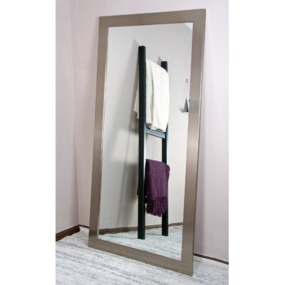 Tall Vanity Wall Mirror Finish: Stainless Silver