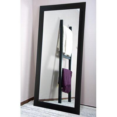 Tall Vanity Wall Mirror Finish: Matte Black