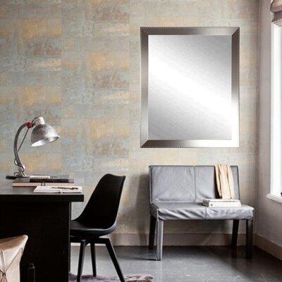 """Steel Chic Tall Vanity Wall Mirror Size: 36.5"""" H X 30"""" W X 0.75"""" D"""