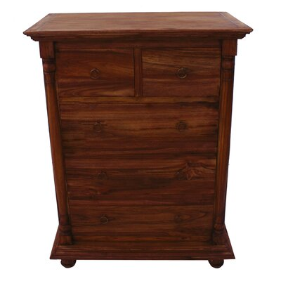 George 5 Drawer Standard Chest