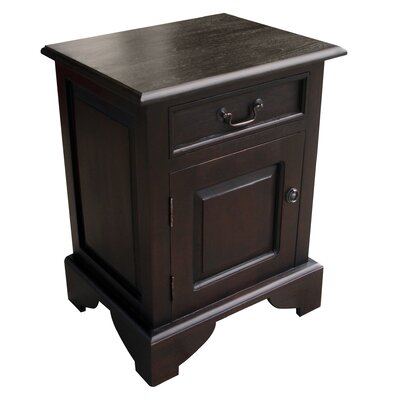 Dhevta 1 Drawer Nightstand