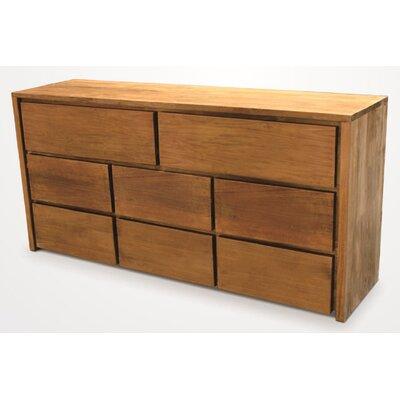 Simplie 8 Drawer Dresser