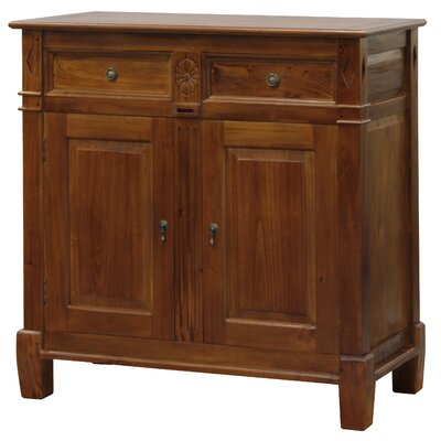 Milan Fine Handcrafted Solid Mahogany Wood Server Color: Pecan