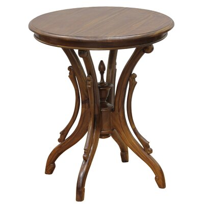 Venice Fine Handcrafted Solid Mahogany Wood End Table