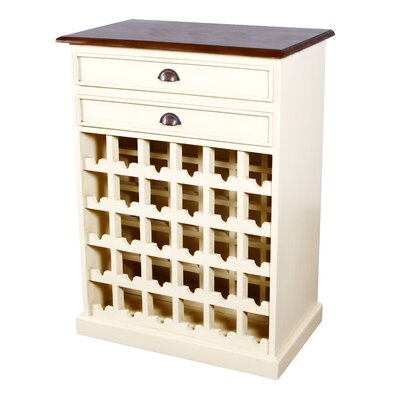 Carmen 30 Bottle Floor Wine Cabinet