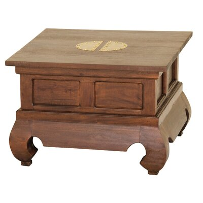 Ming Fine Handcrafted Solid Mahogany Wood End Table
