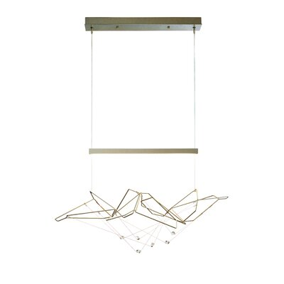 Terra LED Pendant Finish: Vintage Platinum