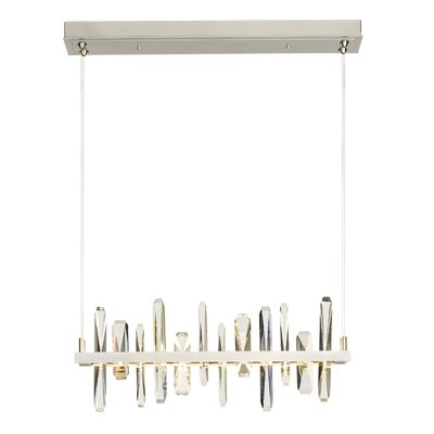 Solitude LED Pendant Finish: Burnished Steel