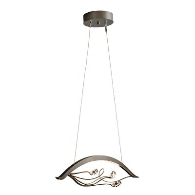 Courb� LED Pendant Finish: Mahogany