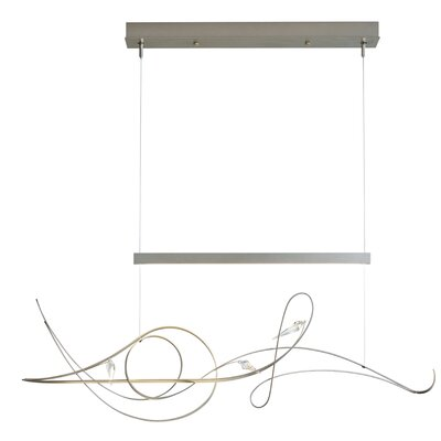 Rhapsody LED Pendant Finish: Natural Iron