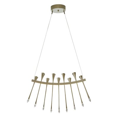 Artemis LED Pendant Finish: Black