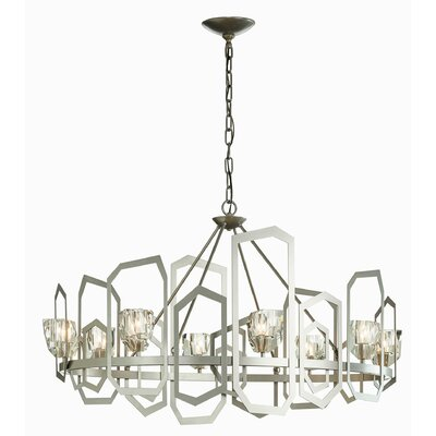 Koziol 8-Light Candle-Style Chandelier Finish: Mahogany