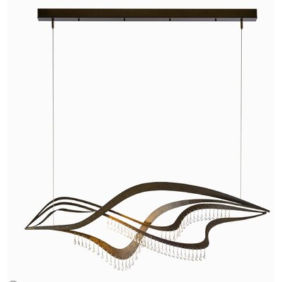 Queenstown Kitchen Island Pendant Finish: Bronze