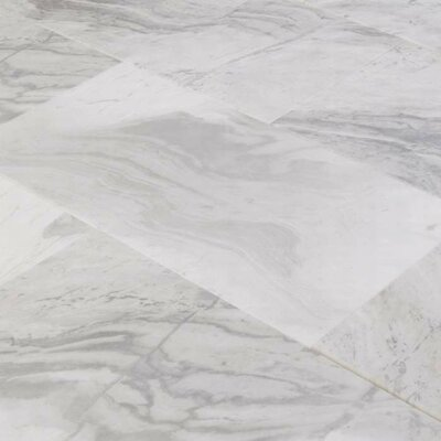 6 x 12 Marble Field Tile in Argento Dolomiti