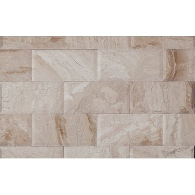3 x 6 Marble Mosaic Tile in Karya Royal