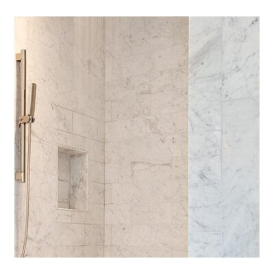 Polished 2 x 2 Mosaic Tile in Bianco Carrara