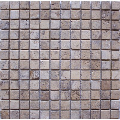 Tumbled 1 x 1 Travertine Mosaic Tile in Philadelphia