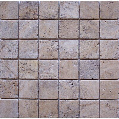 Tumbled 2 x 2 Travertine Mosaic Tile in Philadelphia