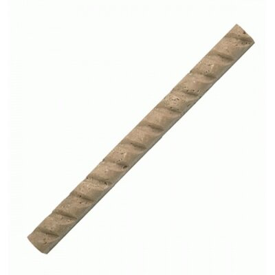 0.88 x 12 Rope Honed Pencil Liner Tile in Noche