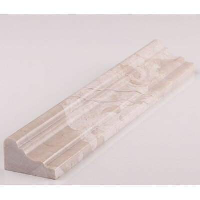 12 x 1.88 Counter Rail Tile Trim in Diana Royal
